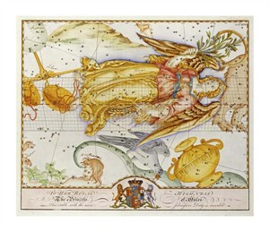 "John Bevis Fine Art Open Edition Giclée:""The Celestial Atlas"""