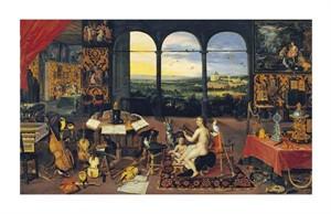"Jan Brueghel Fine Art Open Edition Giclée:""An Allegory of Hearing"""