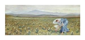"Walter Crane Fine Art Open Edition Giclée:""La Primavera"""