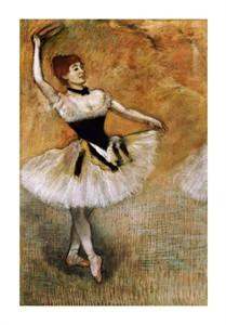 """Edgar Degas Fine Art Open Edition Giclée:""""Dancer with a Tambourine"""""""