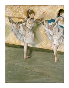 "Edgar Degas Fine Art Open Edition Giclée:""Dancers at the Bar"""
