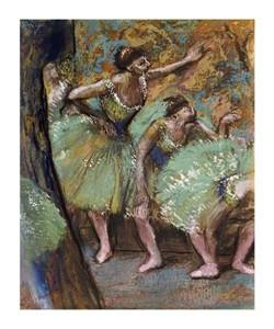 "Edgar Degas Fine Art Open Edition Giclée:""Danseuses"""