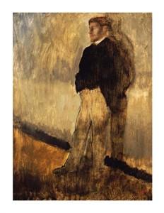 """Edgar Degas Fine Art Open Edition Giclée:""""Portrait of a Man"""""""