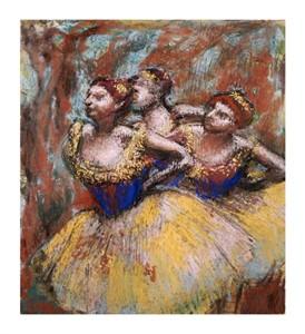 """Edgar Degas Fine Art Open Edition Giclée:""""Three Dancers"""""""