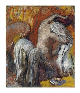 "Edgar Degas Fine Art Open Edition Giclée:""Woman Drying Herself"""