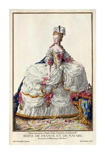 "Pierre Duflos Fine Art Open Edition Giclée:""Marie Antoinette"""