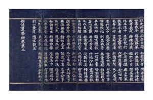 "Koryo Dynasty Fine Art Open Edition Giclée:""A Lotus Sutra Manuscript"""