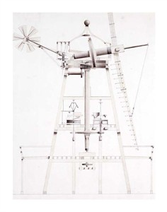 "John Farey Fine Art Open Edition Giclée:""Drawings for Windmills"""