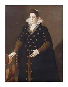 "Lavinia Fontana Fine Art Open Edition Giclée:""Portrait of a Noblewoman"""
