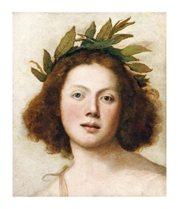 "Girolamo Forabosco Fine Art Open Edition Giclée:""Head of Apollo"""