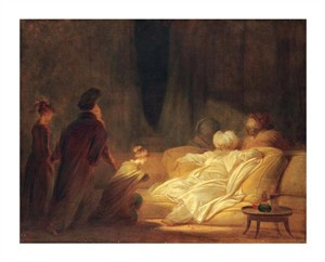 "Jean Honore Fragonard Fine Art Open Edition Giclée:""Le Pacha"""