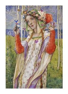 "Edward Reginald Frampton Fine Art Open Edition Giclée:""Fairyland"""