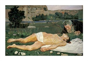 """Ferdinand Hodler Fine Art Open Edition Giclée:""""The Good Samaritan"""""""