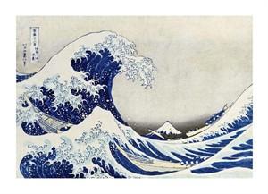 "Hokusai Fine Art Open Edition Giclée:""The Great Wave of Kanagawa"""