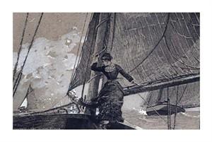"""Winslow Homer Fine Art Open Edition Giclée:""""Yachting Girl"""""""