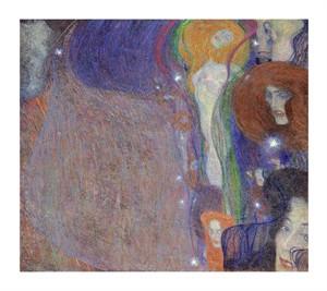 """Gustav Klimt Fine Art Open Edition Giclée:""""Irrlichter (Will-O'-the Wisps)"""""""