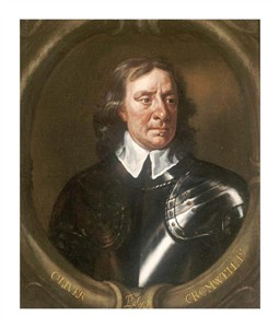 "Sir Peter Lely Fine Art Open Edition Giclée:""Portrait of Oliver Cromwell"""