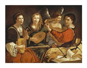 "Pietro Paolini Fine Art Open Edition Giclée:""The Concert"""