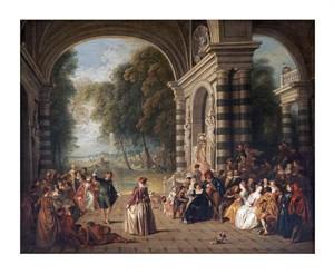 "Jean Baptiste Joseph Pater Fine Art Open Edition Giclée:""The Pleasures of the Ball"""