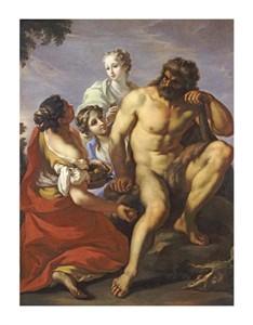 "Gianantonio Pellegrini Fine Art Open Edition Giclée:""Hercules in the Garden of the Hesperides"""