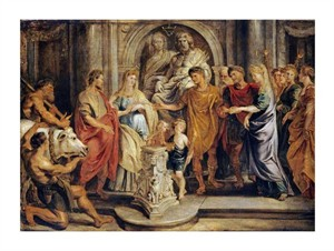 """Peter Paul Reubens Fine Art Open Edition Giclée:""""The Marriages of Constantine and Fausta"""""""