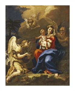 "Sebastiano Ricci Fine Art Open Edition Giclée:""The Rest on the Flight to Egypt"""
