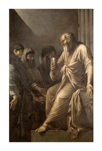 """Salvator Rosa Fine Art Open Edition Giclée:""""The Death of Socrates"""""""