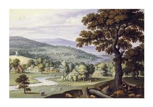 """Marten Ryckaert Fine Art Open Edition Giclée:""""A River Valley"""""""