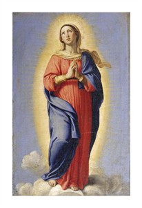 "Giovanni Battista Salvi Fine Art Open Edition Giclée:""The Immaculate Conception"""