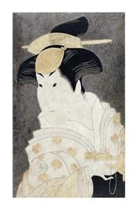"Toshusai Sharaku Fine Art Open Edition Giclée:""Iwai Hanshiro IV"""