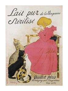 "Theophile Steinlen Fine Art Open Edition Giclée:""Pure Sterilized Milk"""