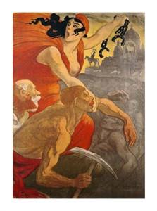"""Theophile Steinlen Fine Art Open Edition Giclée:""""Le Petit Sou"""""""
