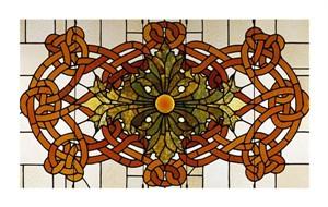 "Sullivan Fine Art Open Edition Giclée:""Skylight Panel for fhe Theatre of the Auditorium Building, Chicago, Illinois"""
