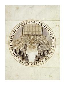 """Simon Thomas Fine Art Open Edition Giclée:""""A Design for the Great Seal of England"""""""