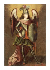 "Unknown Fine Art Open Edition Giclée:""Archangel Michael"""