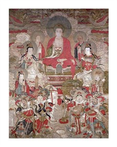 "Unknown Fine Art Open Edition Giclée:""Buddhas"""