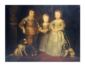 "Anthony Van Dyck Fine Art Open Edition Giclée:""The Children of King Charles I"""