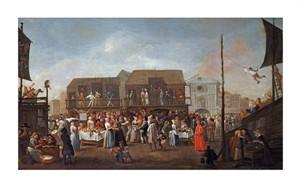 """Egbert Van Heemskerk Fine Art Open Edition Giclée:""""Bartholomew Fair"""""""