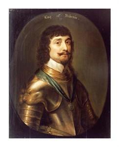 "Gerrit Van Honthorst Fine Art Open Edition Giclée:""Portrait of Frederick V"""