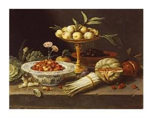 "Jan Van Kessel Fine Art Open Edition Giclée:""Wild Strawberries"""