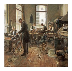 "Leon Bartholomee Fine Art Open Edition Giclée:""The Tailors"""