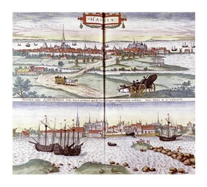 "Georg Braun Fine Art Open Edition Giclée:""Civitates Orbis Terrarum"""
