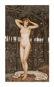 "Walter Crane Fine Art Open Edition Giclée:""Diana at the Bath"""