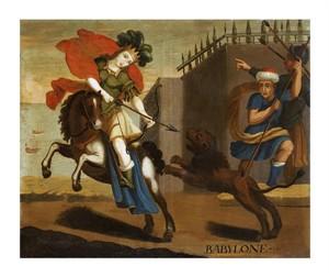 "Cuzco School Fine Art Open Edition Giclée:""Babylon. The Wonders of the Ancient World"""