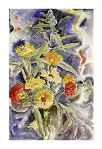 "Charles Demuth Fine Art Open Edition Giclée:""Spray of Flowers"""