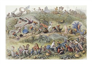 "Richard Doyle Fine Art Open Edition Giclée:""Triumphal March of the Elf King"""