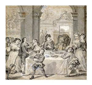 "William Hogarth Fine Art Open Edition Giclée:""An Illustration to Don Quixote"""