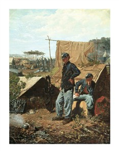 "Winslow Homer Fine Art Open Edition Giclée:""Home, Sweet Home"""