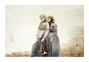 """Winslow Homer Fine Art Open Edition Giclée:""""The Fog Horn"""""""