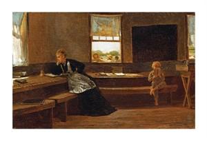"""Winslow Homer Fine Art Open Edition Giclée:""""The Noon Recess"""""""